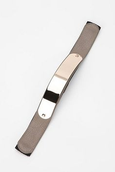 Deena & Ozzy Metal Plate Stretch Belt