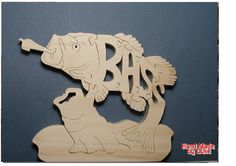 Large Mouth Bass Wood Puzzle Cut On Scroll Saw 7.80 Wide x 6.50 High 3/4 Thick Premium Select Pine Is My Wood of Choice Because Of Its Strength, Durability And Wood Grain. Ready To Ship