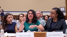 The clash between Pelosi's allies and Ocasio-Cortez's friends intensifed with fresh criticisms from both sides Mr Trump, Donald Trump, Immigration Policy, Popular Stories, Native American Women, Chief Of Staff, The Clash, Republican Party