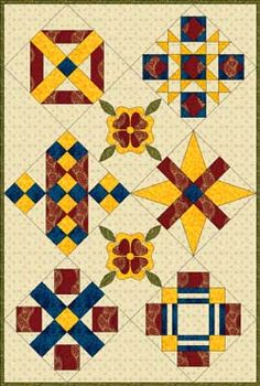 Bible quilt layouts
