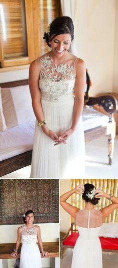 Destination Beach Wedding, Playa Hermosa, Costa Rica; Photos by A Brit and A Blond | Junebug Weddings