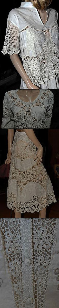 laço fino Irish + tecido ... combinação incrível e única de ... modelo do designer ... fonte ....