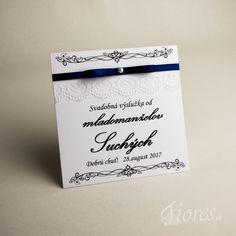 """Svadobné etikety """"Elegance"""" Vytvorili sme pre Vás elegantné etikety na výslužky v jemnom svadobnom prevedení. Place Cards, Place Card Holders"""