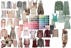 """Soft Summer Color Palette 2"" by blueskies22 ❤ liked on Polyvore"