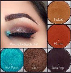 Jaclyn Hill x Morphe. Minus the blue Jaclyn Hill x Morphe. Minus the blue # Blue Eye Makeup, Eye Makeup Tips, Makeup Goals, Makeup Inspo, Makeup Inspiration, Beauty Makeup, Makeup Ideas, Makeup Tricks, Beauty Tips