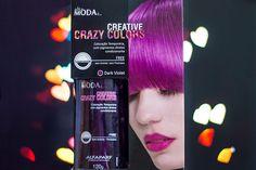 Relíquias da Lara | Looks, Beleza e Lifestyle. : Testei: Creative Crazy Color - Alfaparf - Dark Violet. Cabelo colorido, cabelo roxo, colored hair, purple hair.