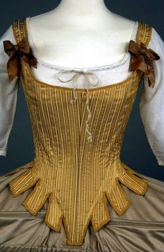 Corset and pannier detail from the movie The Duchess.
