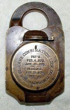 combination padlocks
