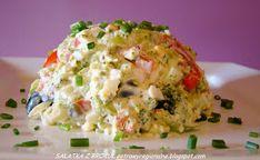 PotrawyRegionalne: SAŁATKA BROKUŁOWA Z RYŻEM Risotto, Potato Salad, Grains, Potatoes, Cooking, Ethnic Recipes, Food, Kitchen, Potato