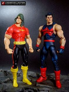 90's Classic Wonderman (Marvel Legends) Custom Action Figure