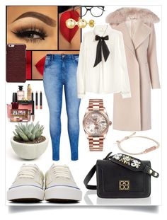"""""""Faster Than Light!"""" by black-wings ❤ liked on Polyvore featuring Diane Von Furstenberg, City Chic, H&M, Vans, BERRICLE, Maison Margiela, Louis Vuitton, MAC Cosmetics, Vera Bradley and NARS Cosmetics"""