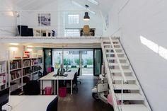Headquarter by Nomade Architettura #Design #Office #Milan