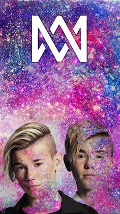 M&M Galaxy 💗Ⓜ️ M Wallpaper, I Go Crazy, Cute Twins, Love U Forever, Twin Brothers, My Boyfriend, Good Music, Dancer, Photos