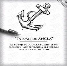 Significado de tatuajes - Marine And Land Vehicles Tattoos 3d, Symbol Tattoos, Mini Tattoos, Sexy Tattoos, Love Tattoos, Body Art Tattoos, Tatoos, Future Tattoos, Tattoo Com Significado