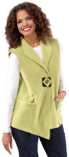 Janska Women's Artisan Fleece Vest Medium Kiwi - http://womenswintercoats.hzhtlawyer.com/janska-womens-artisan-fleece-vest-medium-kiwi/