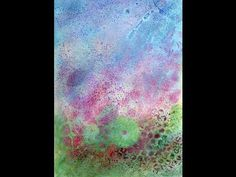 Art Journal Book of Backgrounds 2013 Session 21 - YouTube
