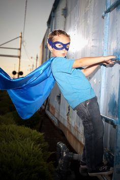 NEW Basic Cape and Mask SET Single sided Super by superkidcapes, $14.99