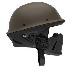 Amazon.com: Bell Solid Rogue Cruiser Motorcycle Helmet - Gun Metal / Large: BELL: Automotive