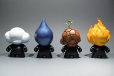 4 Elements Munny's