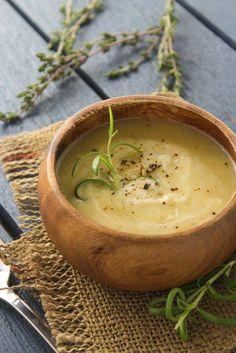 Крем-суп с картофелем и цветной капустой