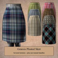 Genesis Pleated Skirt, so pretty!