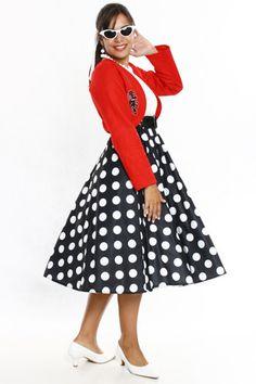 vestidos de bolas juvenis anos 60