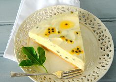 Valentine's Day: Passion Fruit, Crème Fraîche and White Chocolate Cream Pie | Scrumptious South Africa