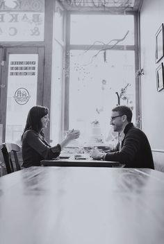 Engagement. Coffee Shop. www.rjpblogs.com