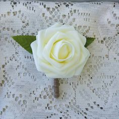 Check out this item in my Etsy shop https://www.etsy.com/listing/452637402/boutonniere-budget-boutonniere-ivory
