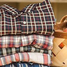 Dreams of plaid for the Spring. Shirts by @jachsny. #menswear #plaid #mensfashion
