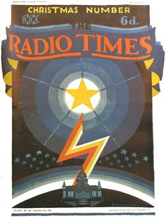 Vintage Magazine Cover - Radio Times (British) Christmas Number - 17 December 1926