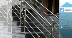 Where our European-trained craftsmen custom manufacture railings, staircases, gates, decks, fences and other custom metal work. Custom Metal Work, Custom Metal Fabrication, Staircase Railings, Staircases, Apex Design, Metal Gates, Metal Projects, Service Design, Metal Working