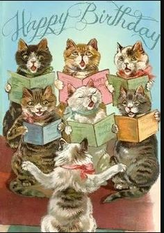 birthday cards with cats free onlineYou can find Vintage birthday cards and more on our website.birthday cards with cats free online Happy Birthday Vintage, Happy Birthday Funny, Happy Birthday Images, Birthday Pictures, Happy Birthday With Cats, Happy Easter, Happy Birthday Wishes Cards, Happy Birthdays, Christmas Cats