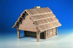 Další stavebnicí od značky Archprogram je hospoda se svými 147 dílky..