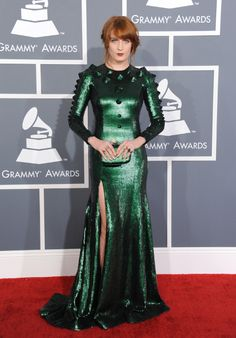 florence welch in givenchy 2013 grammys