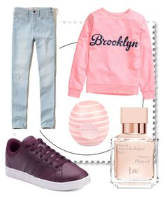 """""""Untitled #18"""" by alica2003 on Polyvore featuring Hollister Co., adidas, Maison Francis Kurkdjian and River Island"""