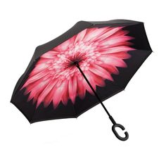 Double Layer Inverted Inverted Umbrella Is Light And Sturdy Fresh Fruit Alphabet Letter Reverse Umbrella And Windproof Umbrella Edge Night Reflection