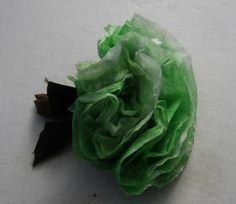 Ideas for Scrapbookers: Featured Artist Friday: Coffee Filter Flowers by Juliann M.
