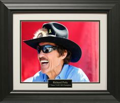Richard Petty Photo Matted and Framed
