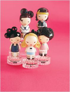 Harajuku Lovers perfume by Gwen Stefani...awesome. Wish they came in larger sizes.