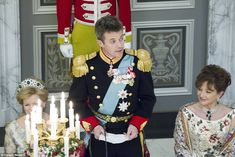 Speech! Crown Prince Frederik paid tribute to his mother in three languages last night