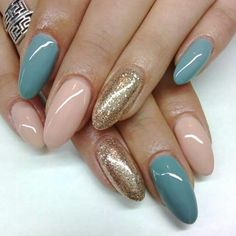 Loving the combination of these colors#lovely nails