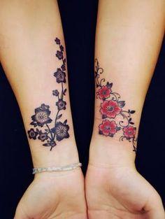 tattoo sakura nos braços