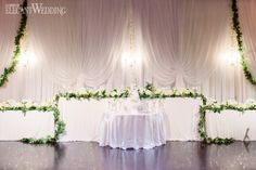 To bring to life Toronto couple Jen and Shana's vision of an ultra-glamorous garden-inspired wedding, Fab Fete combined luscious greenery, opulent golds. Greenery, Wedding Styles, Real Weddings, Wedding Inspiration, Glamour, Table Decorations, Garden, Garten, Lawn And Garden