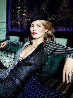 pinterest.com/fra411 #Kate Moss by Mario Testino for Vogue #dose