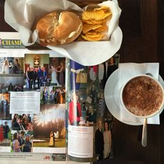 Brekkie in Cocos checking out one of our wedding in Image magazine from Ashford Castle Irish Wedding, Our Wedding, Ashford Castle, Chocolate Fondue, Coco, My Photos, Wedding Photography, Magazine, Weddings