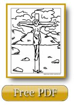 Lent activities and Lent coloring pages. There's more on this site, too, like the Sorrowful Mysteries Rosary video.
