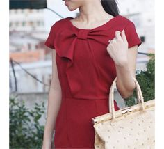 DARCY pencil vintage dress inspired from custom door heartmycloset,