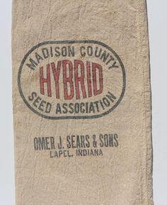 Madison County Hybrid Omar J. Sears & Son Lapel, Indiana