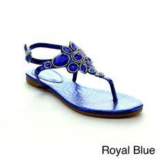 Rck Bella Sami-43 Women's Fashion Thong Sandal Shoes, Color:ROYAL BLUE, Size:7 RCK Bella http://www.amazon.com/dp/B00KCFK2LK/ref=cm_sw_r_pi_dp_8Faqub0CHZY57